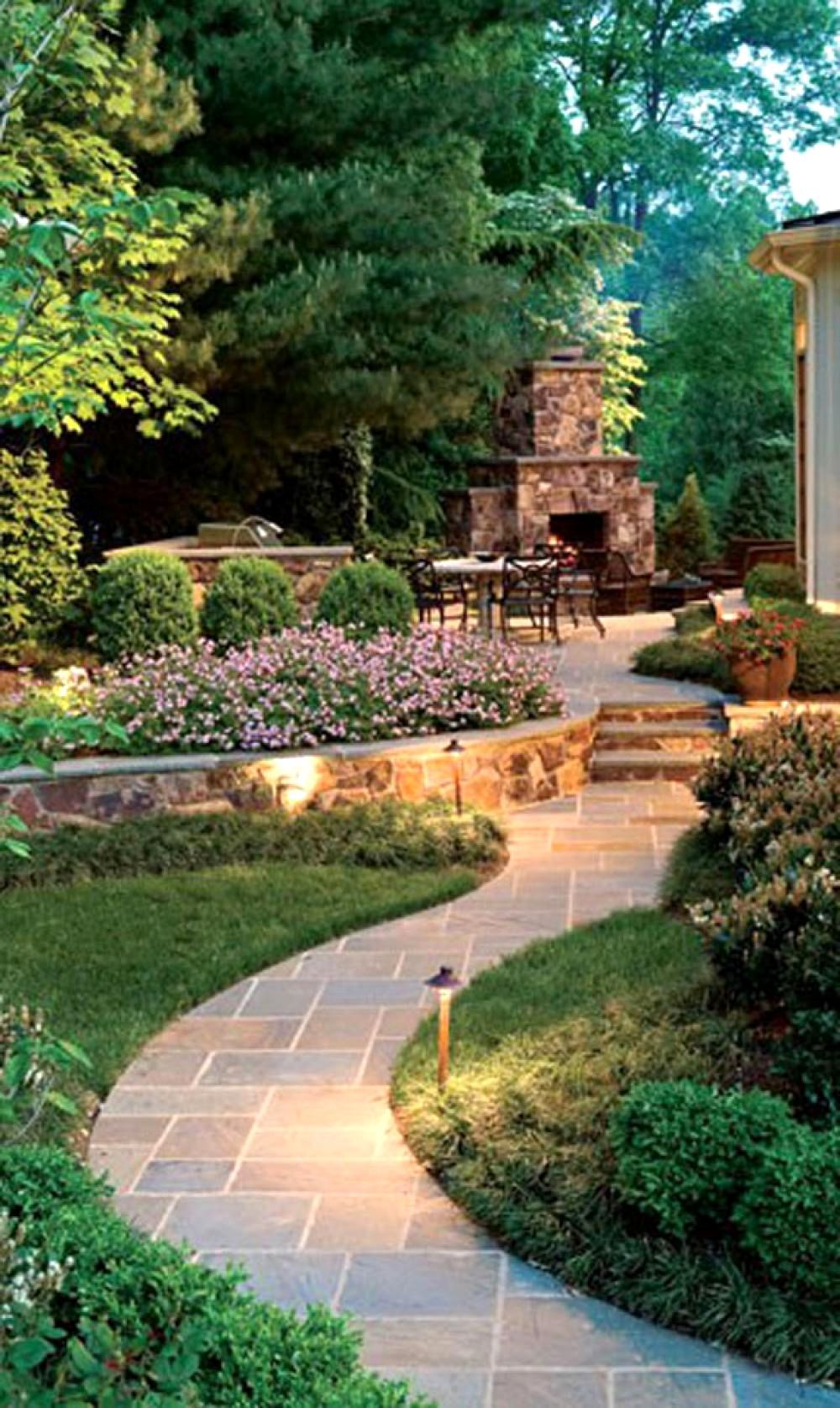 Modern Low Maintenance Garden Ideas Romantic Garden Design ... on Romantic Backyard Ideas id=97516