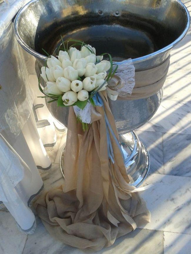 Ευθυμίου Flowers - Στολισμός Βάπτισης