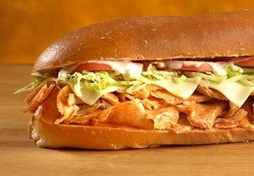 Jersey Mike's Buffalo Chicken Cheese Steak (with White Giant bread) contains 1,740 calories and 7,795 mg of sodium.