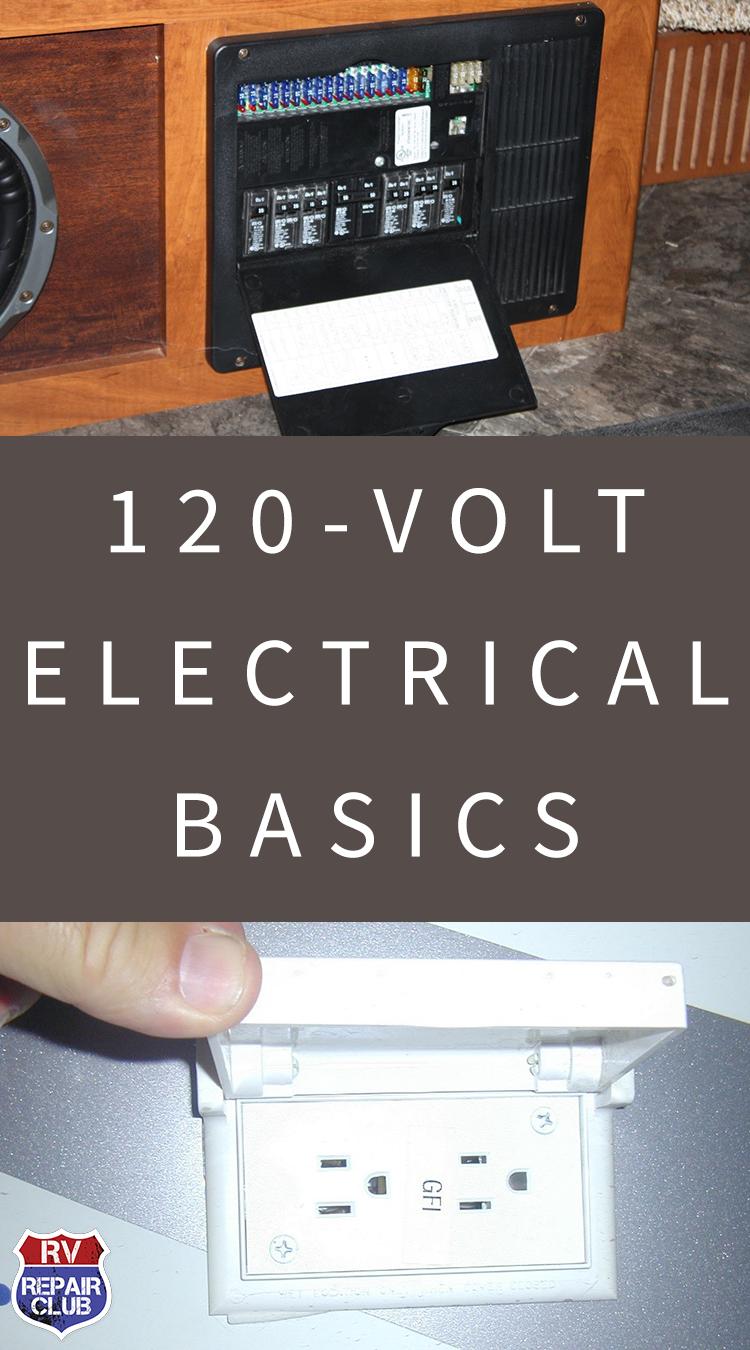 120Volt Electrical Basics Part 1 Rv camping, Rv travel