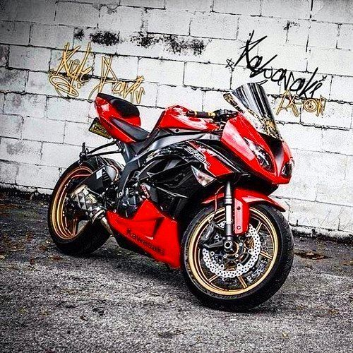 Kawasaki Ninja Sportbike Motogp Moto Motorcycle Motorace Motodrift