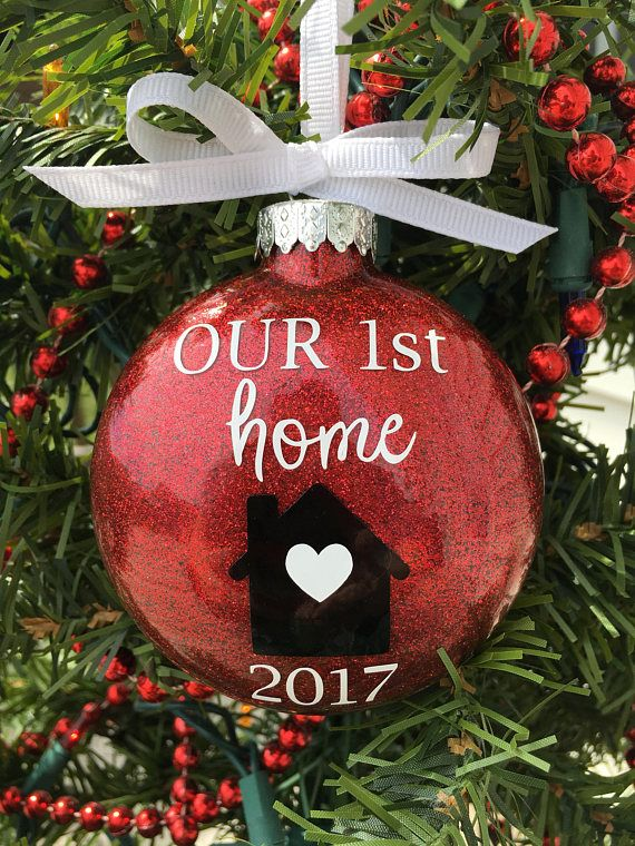 Our First Home Christmas Ornament.First Home Ornament Our First Home Christmas Ornament