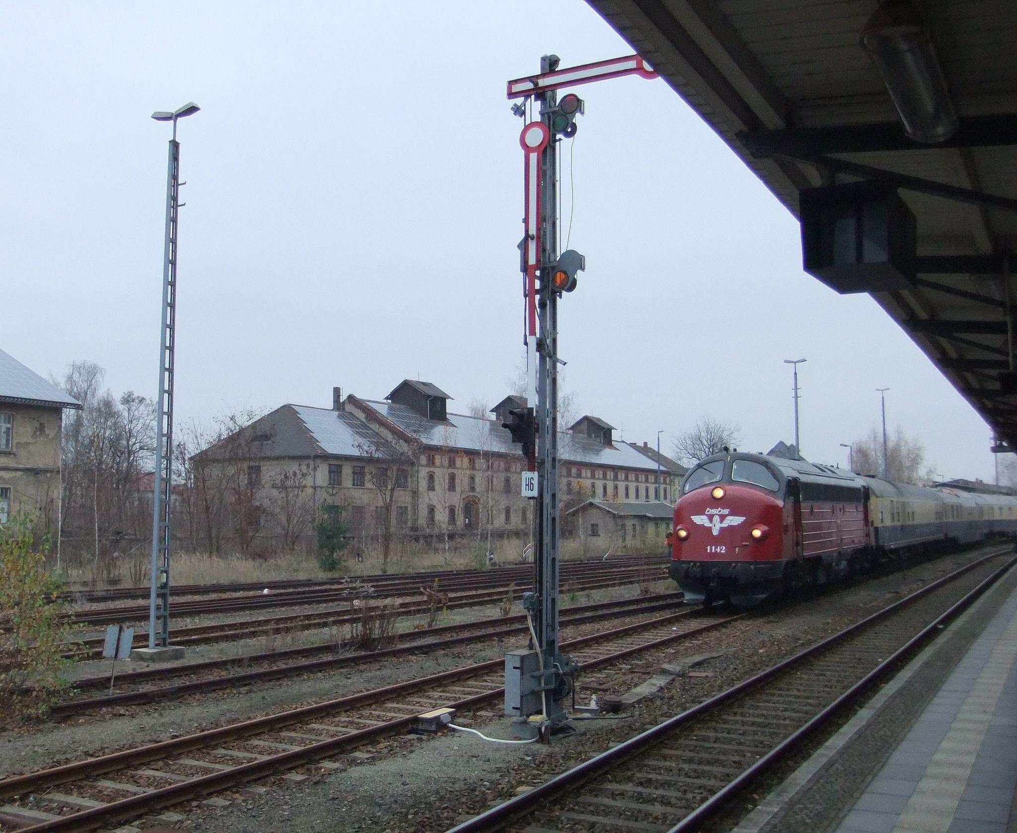 https://flic.kr/p/wz2QMA | Bahnhof Zittau | Rheingold