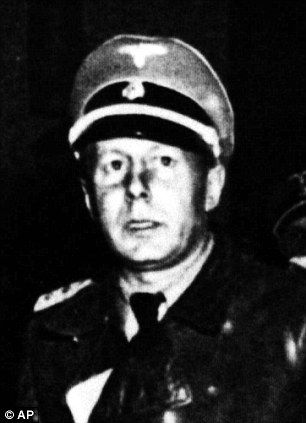 Nazi SS Colonel Walter Rauff, pictured in 1945/S.S. murderer Rauff was even able to travel between South America and Germany as a company rep without hinderance.  It wasn't until 1961 that he was indicted for 100,000 murders but he never faced justice, dying from a heart attack in Chile instead after his adopted government refused an extradition request.  Damning minutes of an Interpol executive committee meeting in 1962 shows up the French attitude to the killers.  Interpol secretary…