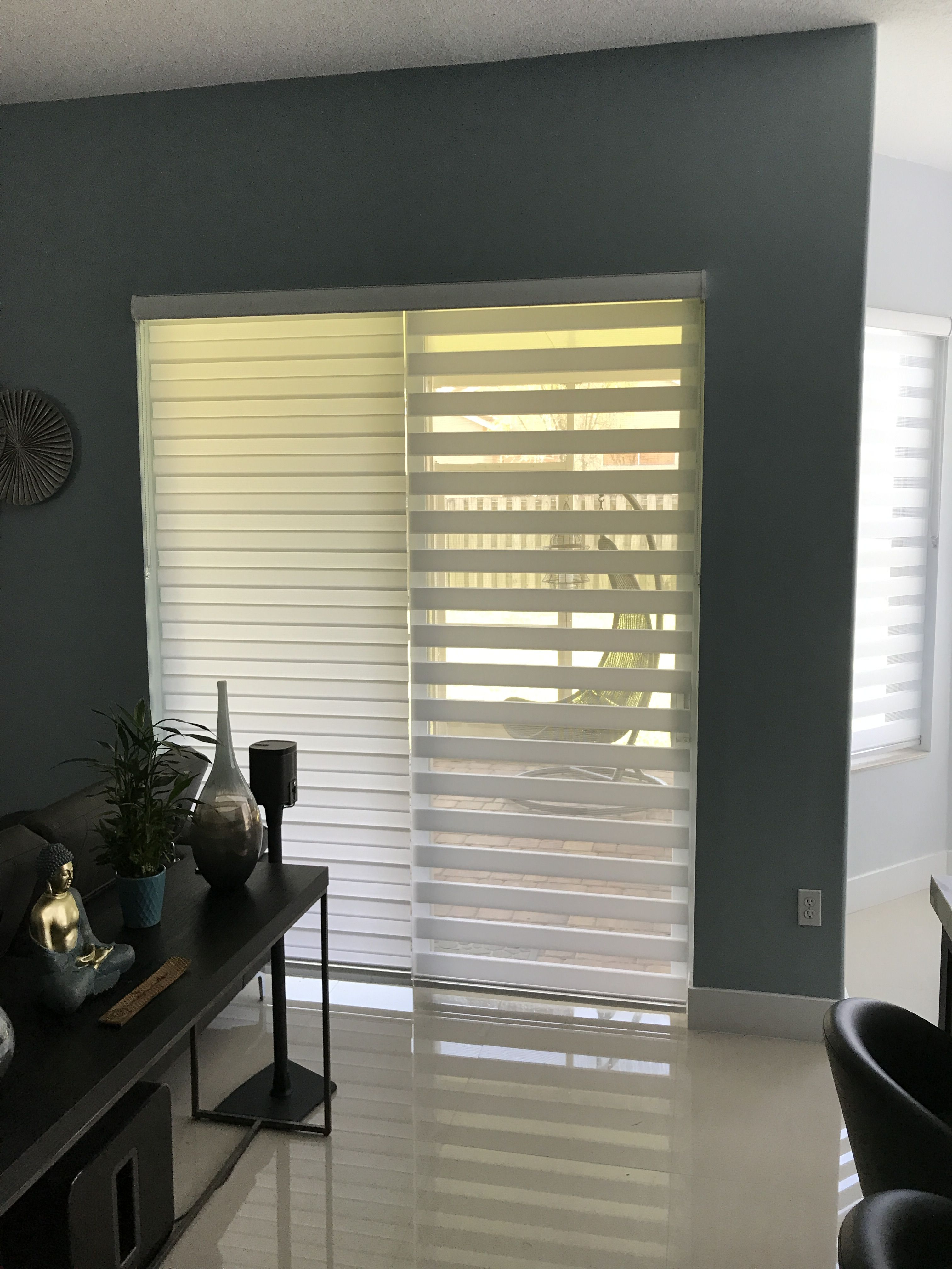 2in1 Zebra Illusion Shades By Elite Decor Miami Zebra Blinds