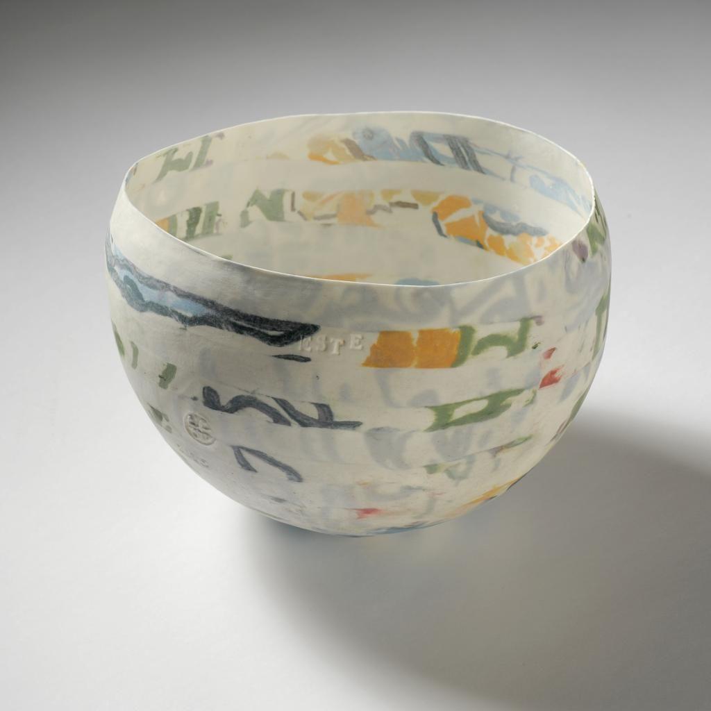 Guy Van Leemput - Porcelain slip balloon bowls  Ceramics