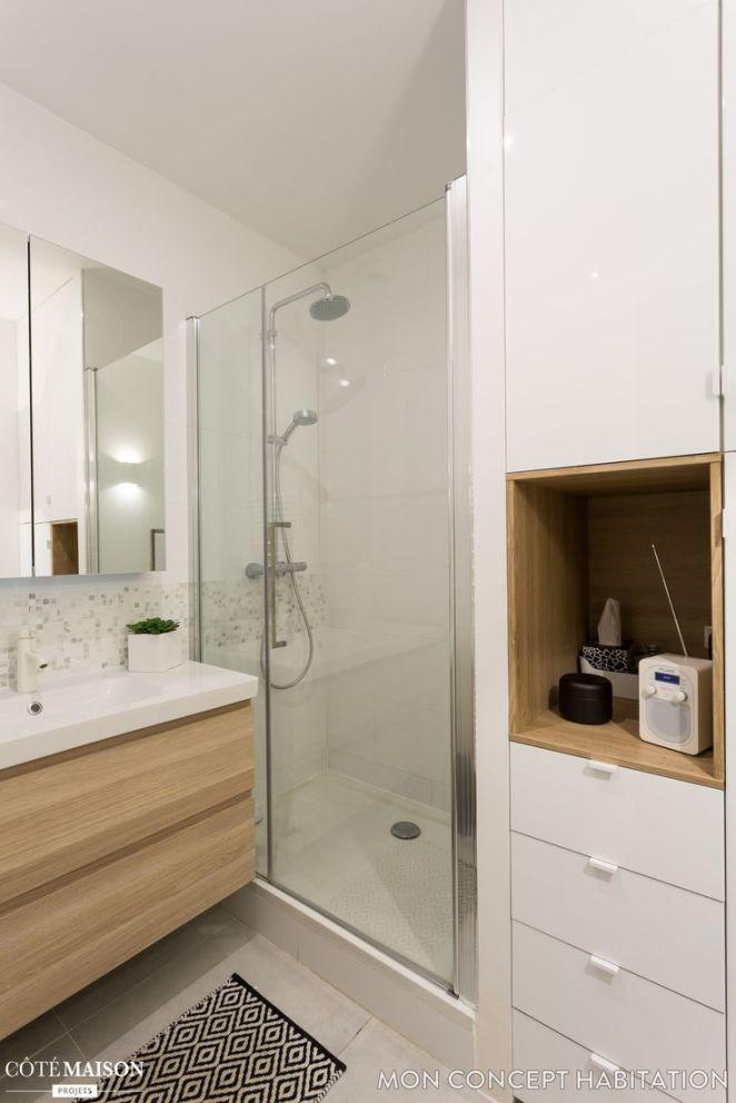 Idée décoration Salle de bain Rénovation d\u0027un appartement à