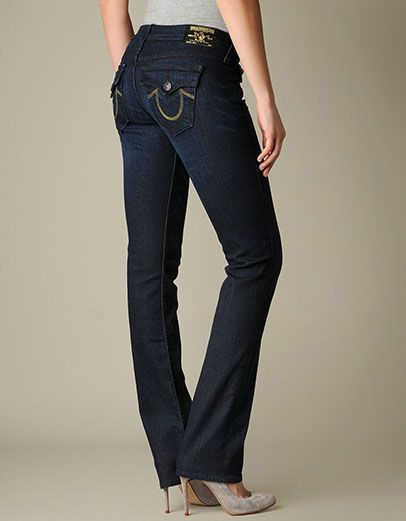 True Religion Brand Jeans, WOMENS BILLY JEAN , tim luckdraw, Womens : Jeans : Straight Leg, W10T28S77TIM