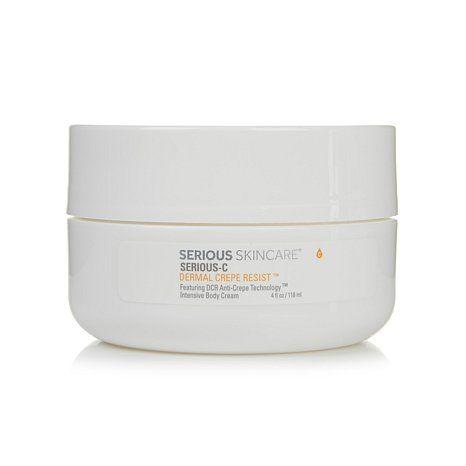 Serious Skincare Dermal Crepe Resist Intensive Body Cream Hsn Body Cream Serious Skin Care Skin Care
