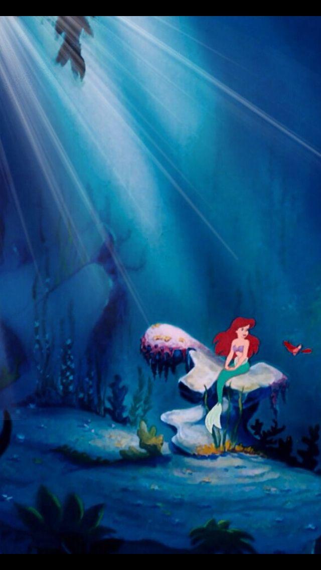 Little Mermaid Iphone Background Mermaid Wallpaper Iphone