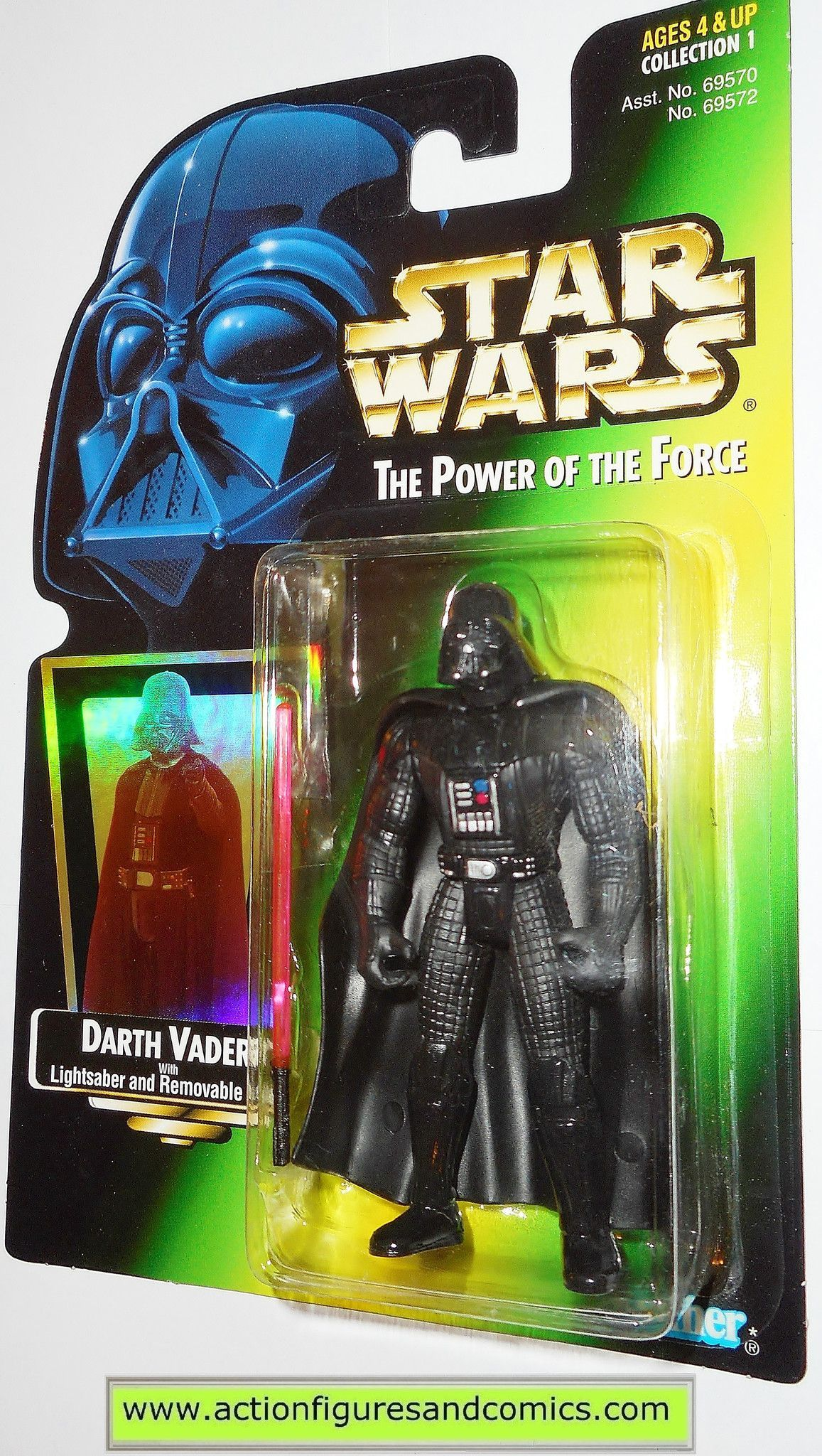 """Hasbro Star Wars  Power of the Force Emperor Palpatine ACTION FIGURE 3.75/""""  B4"""