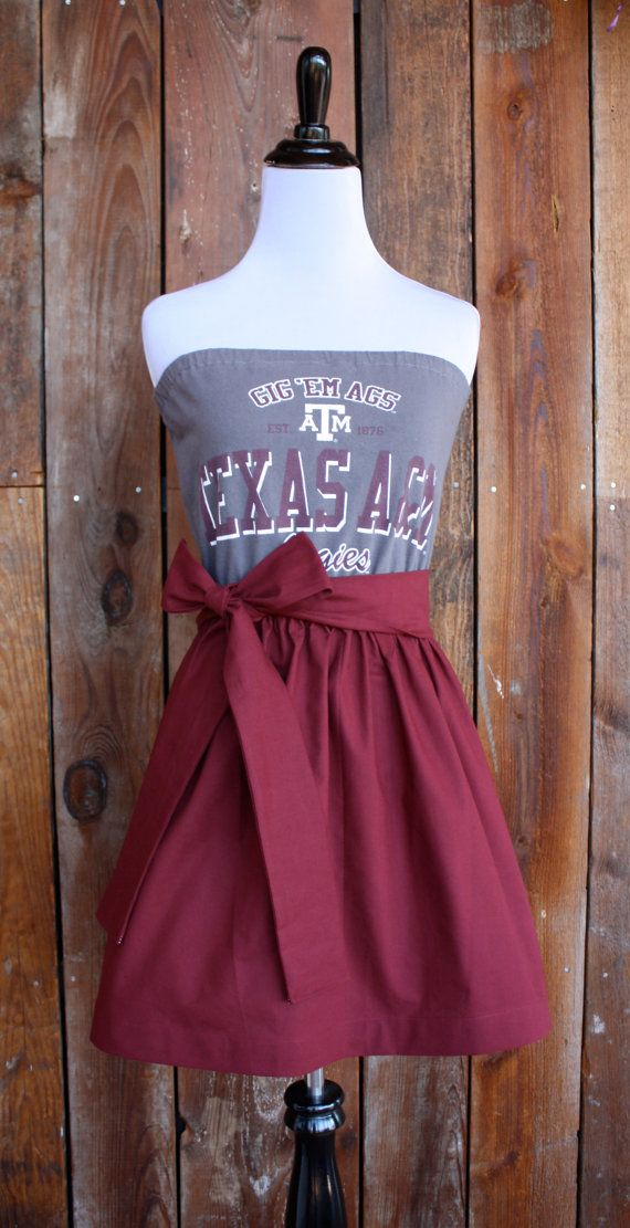 Strapless Game Day Dress, $45.00 would love it in NC State colors!!