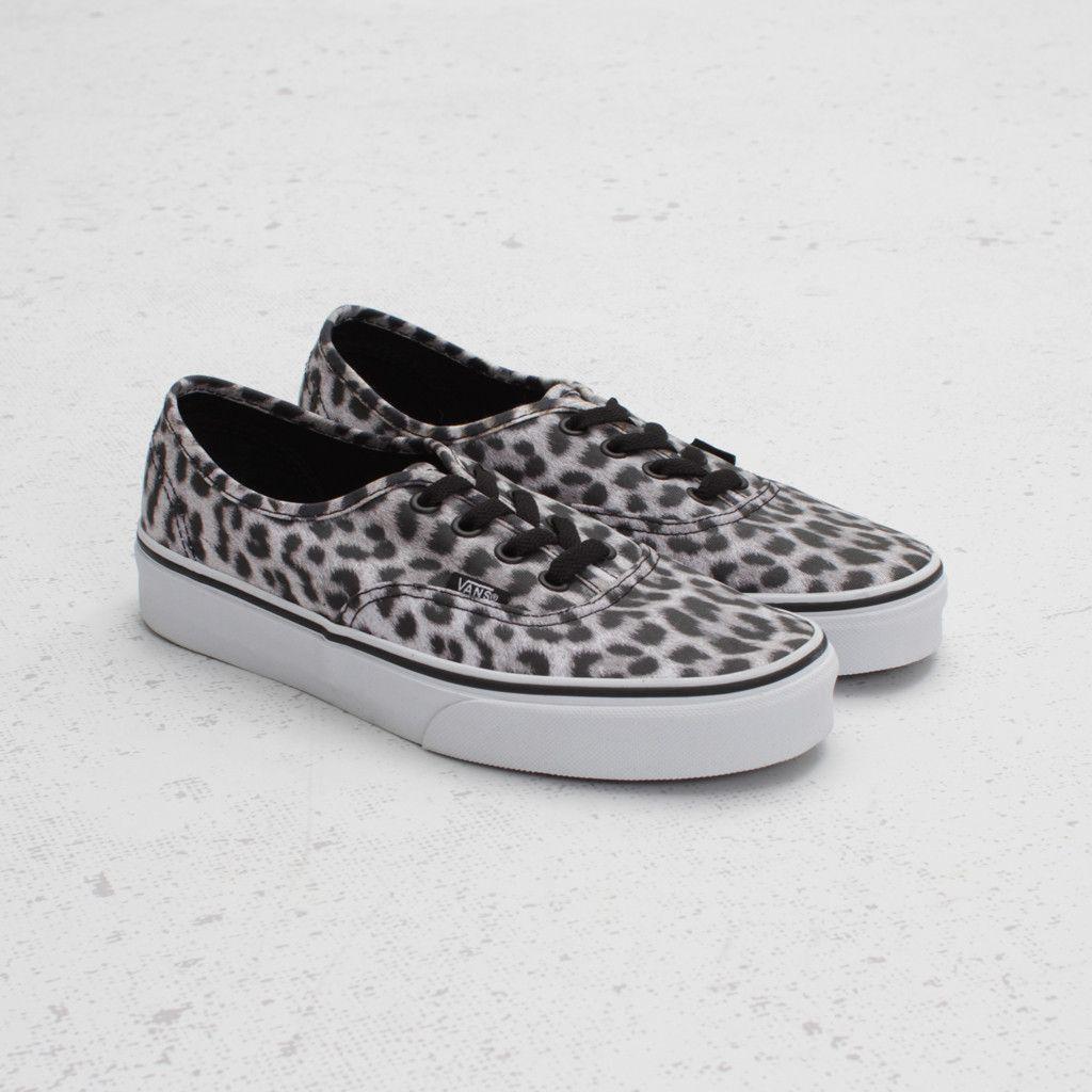 zapatos vans de leopardo