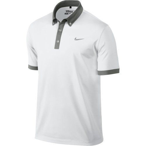 Black Friday Nike Ultra Men's Golf Polo Shirt (Large, White) from Nike  Cyber Monday