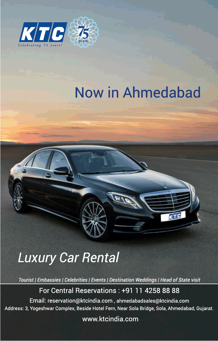 Ktc Celebrating 75 Year Luxury Car Rental Now In Ahmedabad Ad Ahmedabad Times Check Out More Car Advertise Car Rental Luxury Car Rental Automobile Advertising