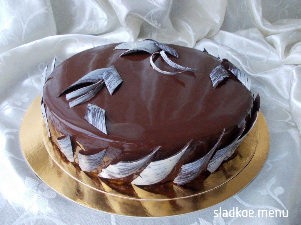 Торт-мусс Кофе и шоколад | Сладкое Меню