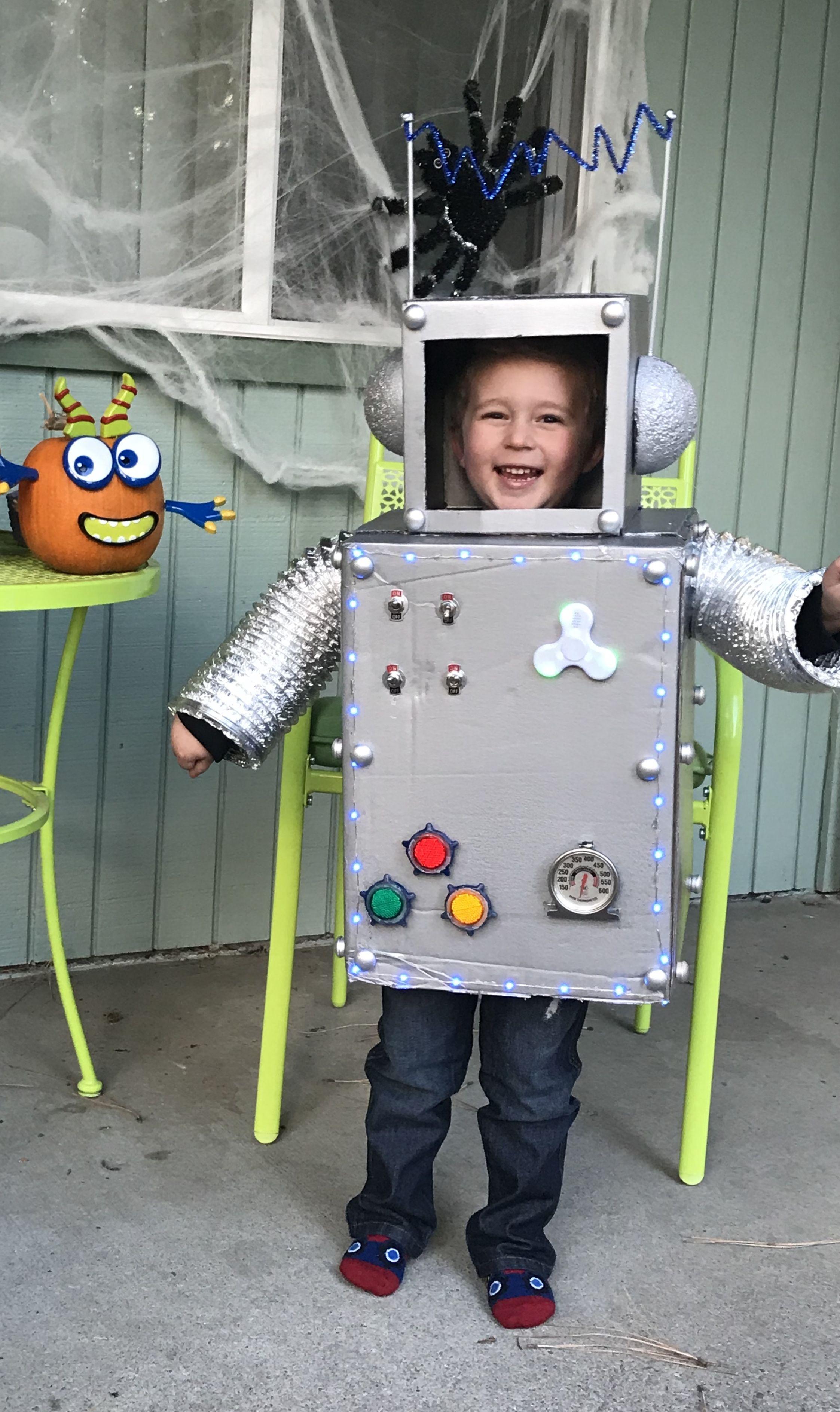 Costume Halloween Robot.Pin On Halloween