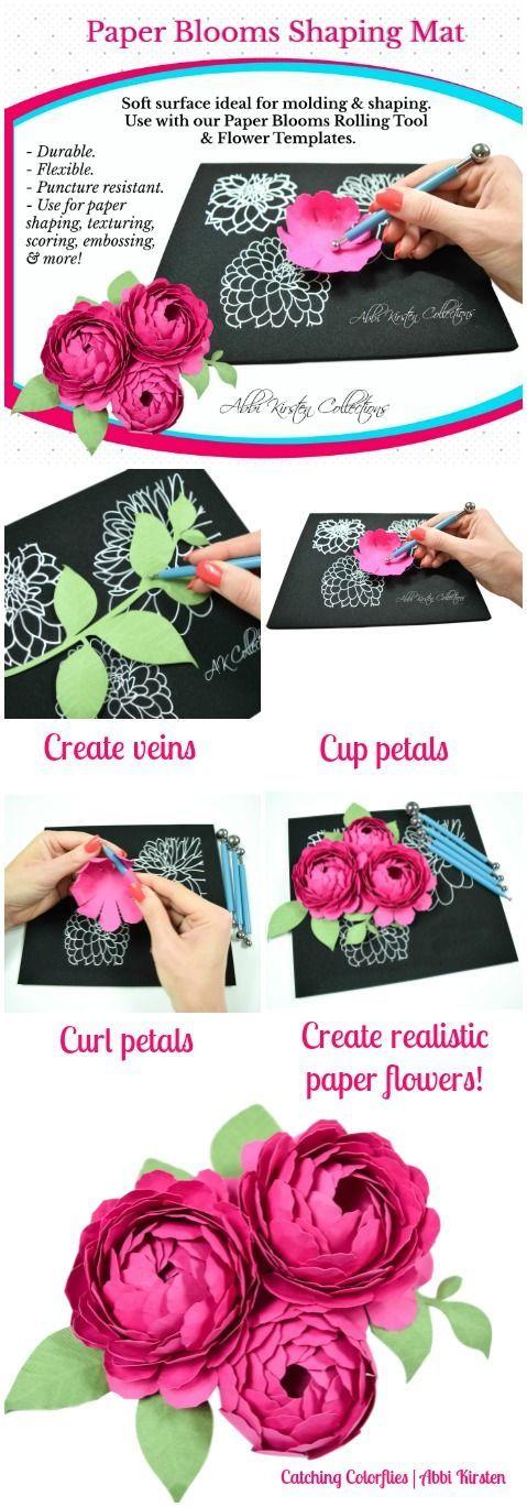 Blooming Paper Flower Template Elitadearest