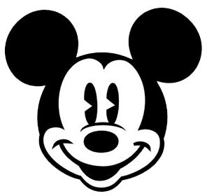 48++ Mickey mouse face clipart ideas