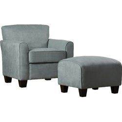 Great Northern Armchair And Ottoman $314