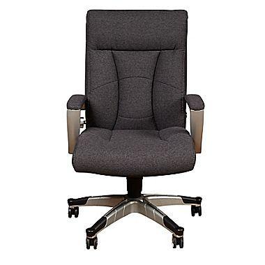 Sealy Santana Fabric Executive Chair, Fixed Arms, Gray (9843G) | Staples