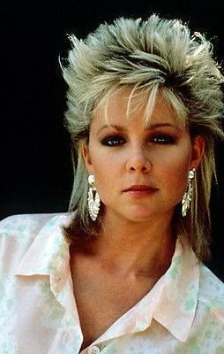 80s bilevel style  mullet hairstyle hair inspo color