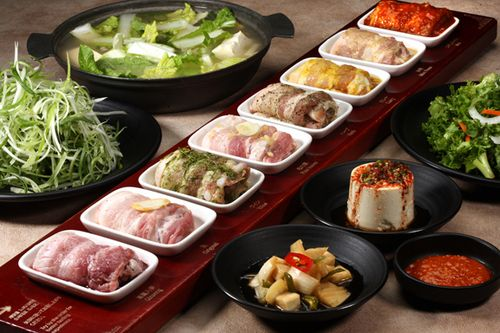 Palsaik Korean Bbq Specializing In Samgyeopsal Pork Belly Regular Garlic
