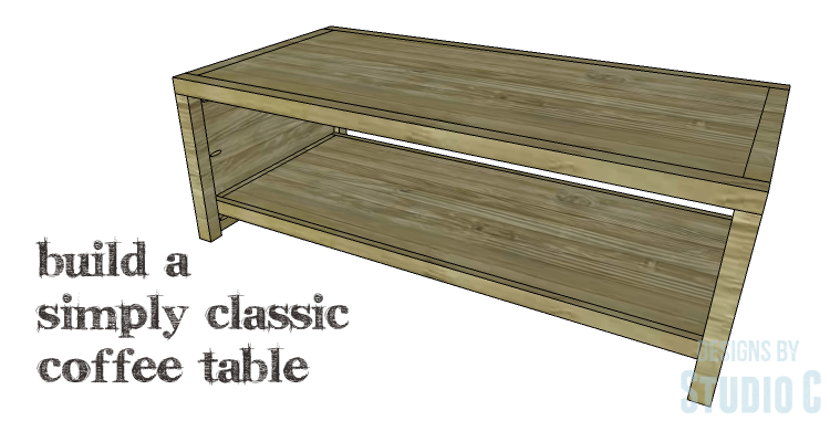 Diy Plans To Build A Simply Clic Coffee Table Sometimes The Simplest Piece Of Furniture