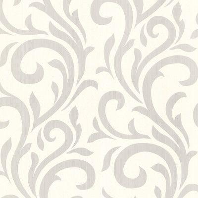 """33' x 20.5"""" Muriel Scroll Wallpaper Wayfair Wallpaper"""