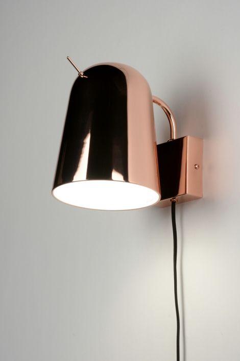 wandlamp 71965: modern, design, rond ...