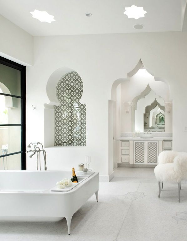 Salle de bain   deco oriental moderne   Pinterest   Salle de bains ...