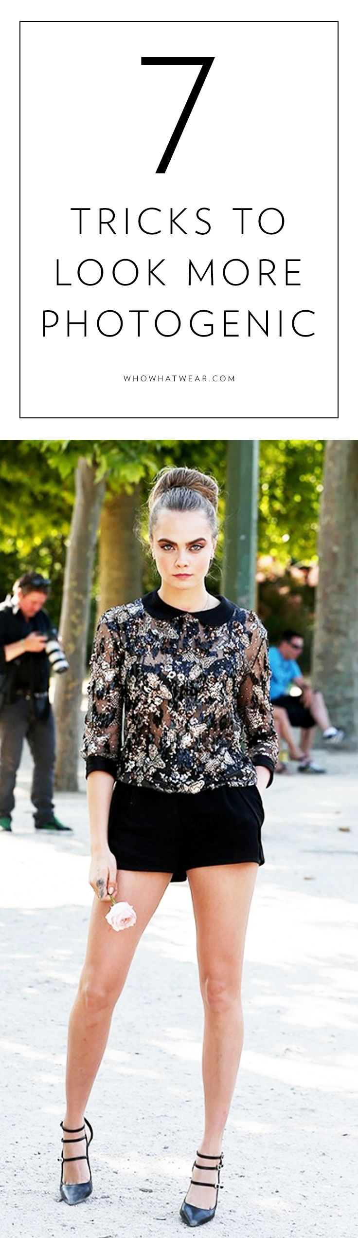 7 Tricks Celebrities Use to Look More Photogenic