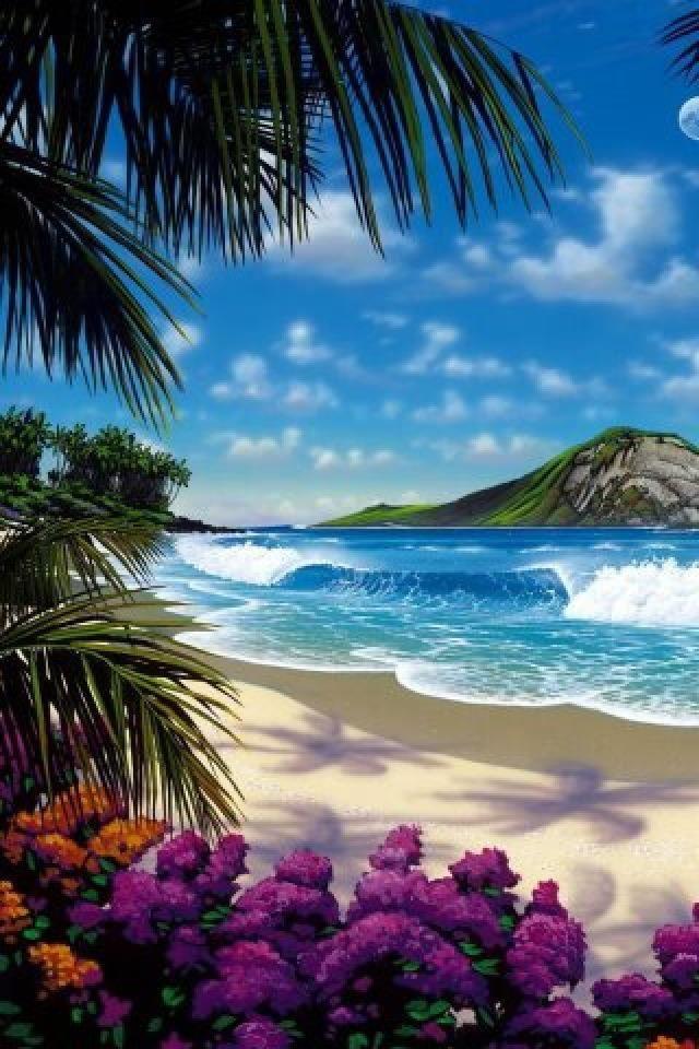Caribbean Beach Wallpaper Beautiful Places Wonders Of The