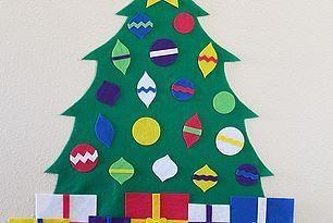 Felt Christmas Tree + Free Patterns