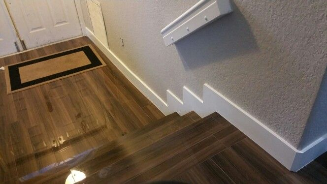 High Gloss Wood Flooring And 1x6 Baseboard Nationwide Moulding