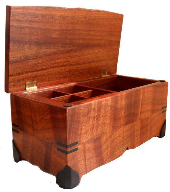 Koa Wood Jewelry Box Box Woods and Woodworking