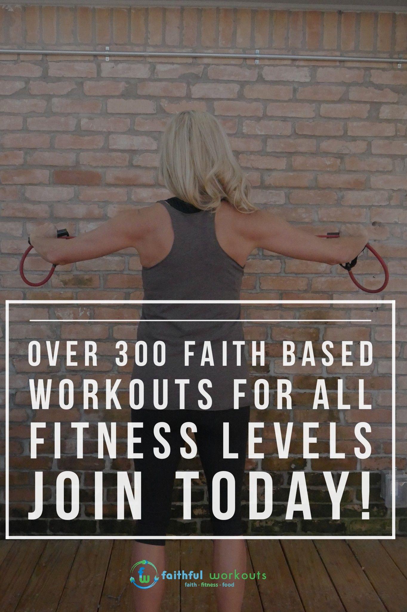 Faith Fitness Food Faithful Workouts Christian Fitness Workout Faith
