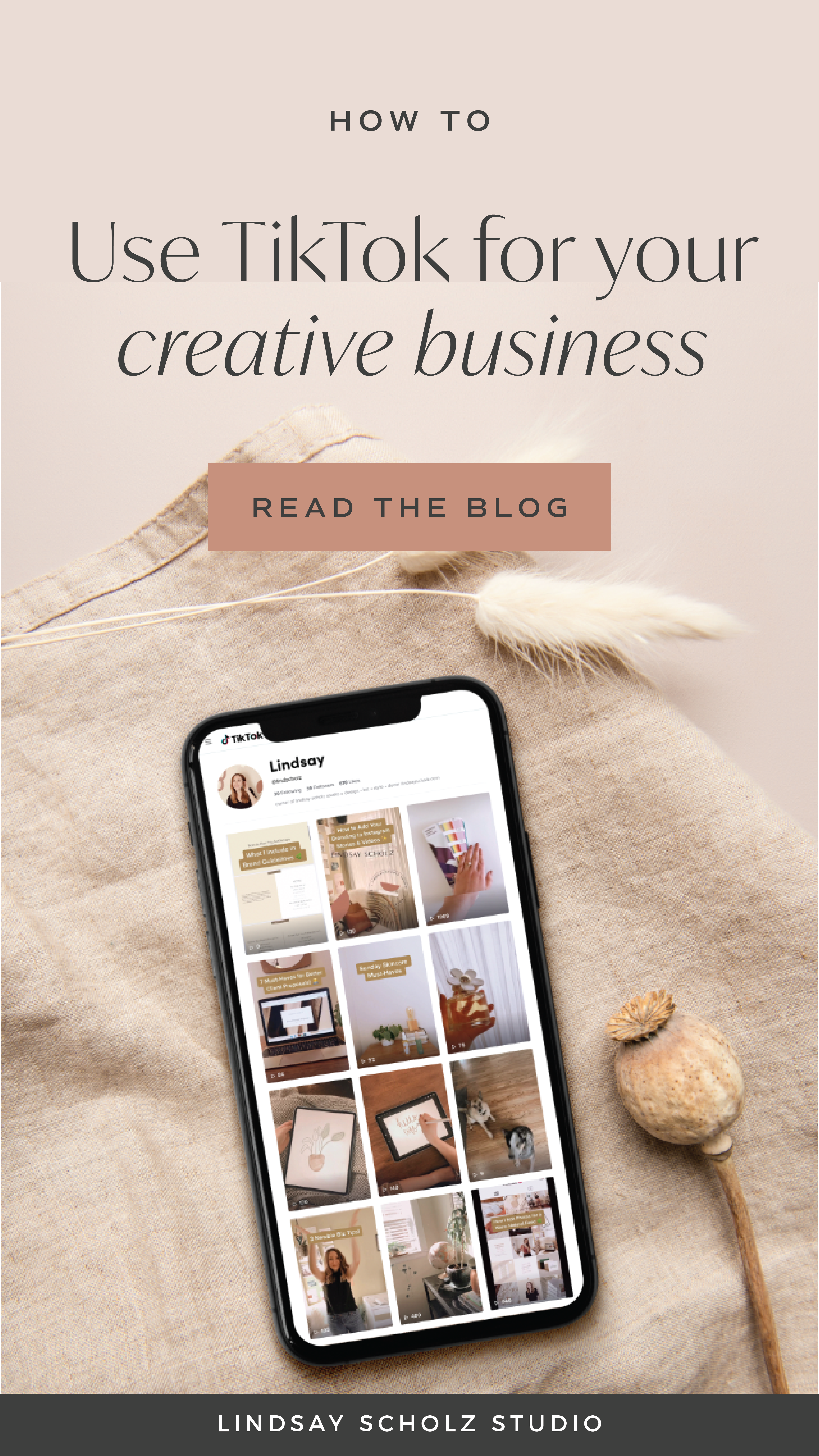 How To Use Tiktok For Business In 2020 Lindsay Scholz Studio Creative Studio For Woman Owned Businesses Creative Business Instagram Marketing Tips Instagram Marketing Strategy