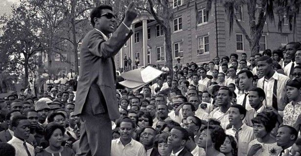 April 16 1967 From The Hood Of A Car Stokely Carmichael