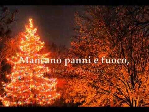 Italian Christmas Music.Italian Christman Song Natale Christmas Tu Scendi Dalle