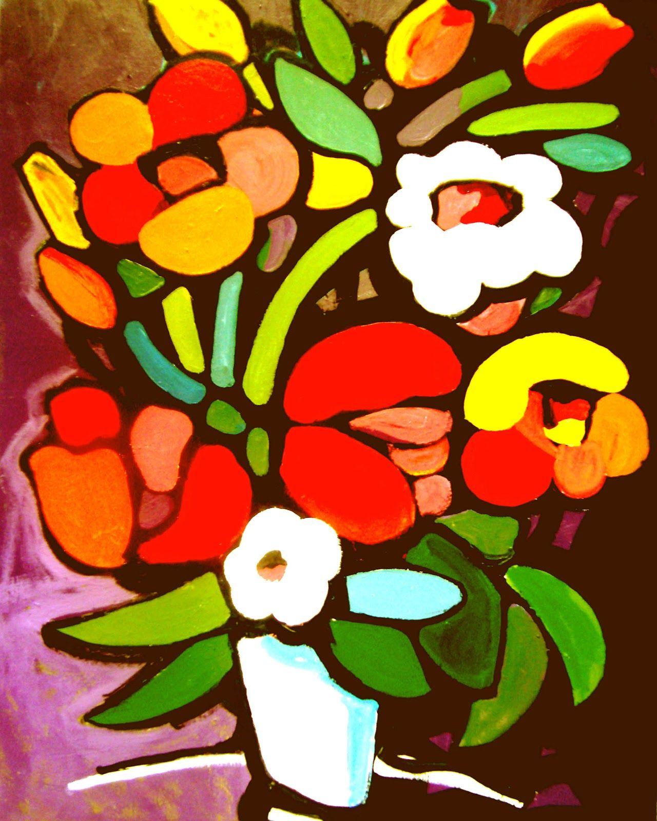 Flowers in vase\