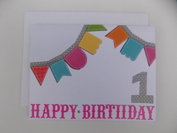 First Birthday Card 1st Birthday Card Card For Toddler For