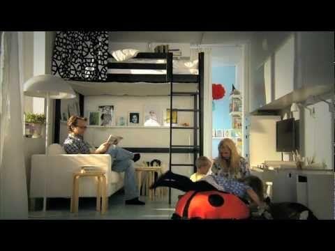 (17162) IKEA Für Kleine Räume: Clevere Ideen Für Mehr Platz   YouTube