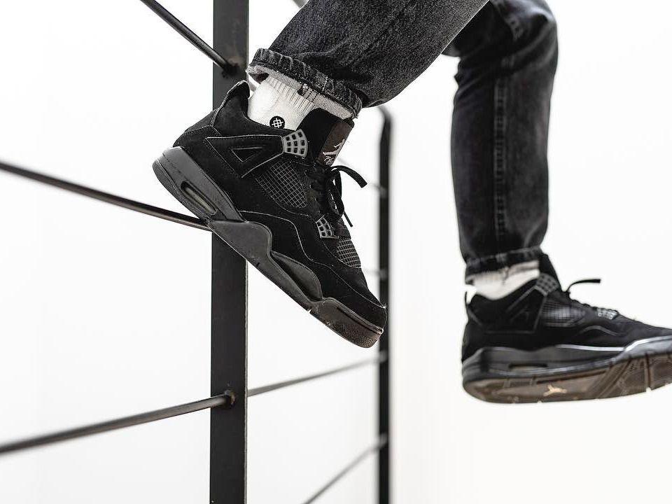 Nike Air Jordan 4 Black Cat - 2006 (by vieilleecole) | Hype shoes ...