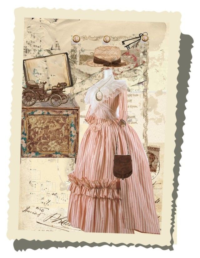 """Saddle Rose"" by kmiles ❤ liked on Polyvore featuring art, vintage, old, buggie, wallpaper, stamp, hat, box, boots and saddlebag"
