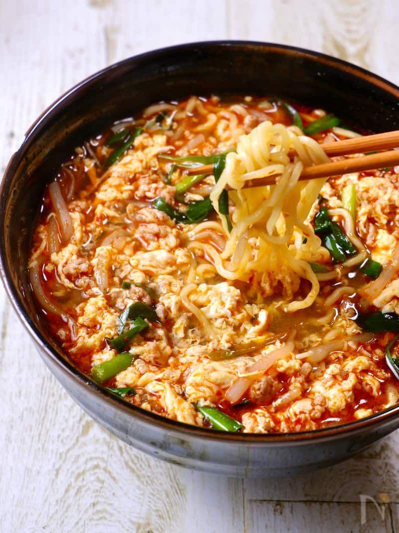 簡単旨すぎ 我が家流 辛麺 〆が最強に美味しい レシピ 2020