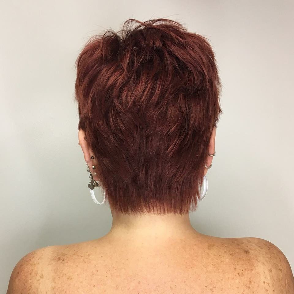 Pixie Cut Short Hair Textured Pixie Hairbyjessmitch At Olive