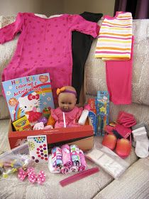 Encouraging blog post. OCC shoebox for 2-4 year old girl. | Operation christmas child boxes ...
