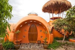 Magical Dome House on Organic Mango Farm by gloriaU