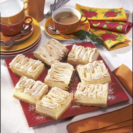 Käse-Baiser-Schnitten Rezept - chefkoch käsekuchen muffins